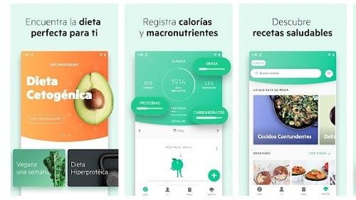 aplicaciones para controlar el peso