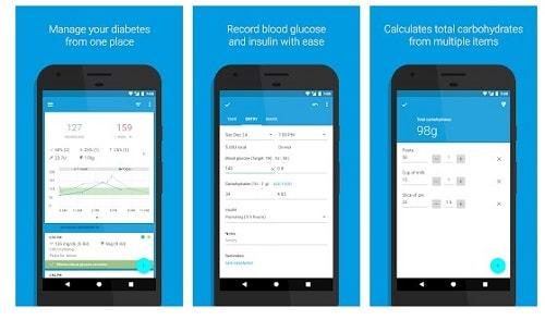 aplicaciones diabeticos