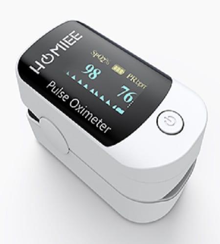pulsioximetro de dedo homiee