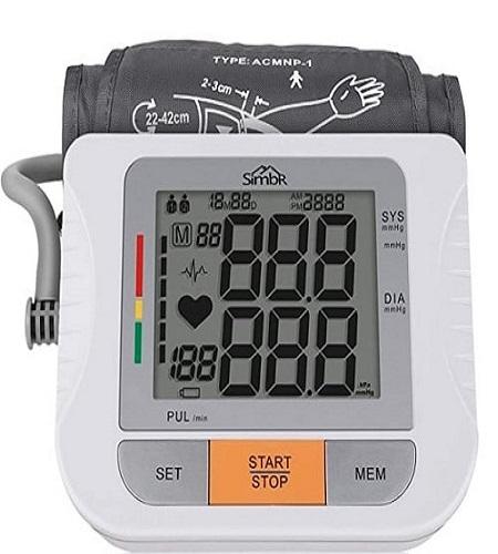tensiómetro de brazo digital simbr